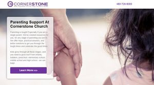 Google Church Search Campaign Landing Pages