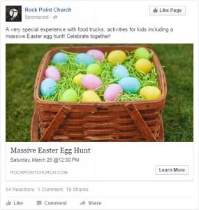 easter facebook