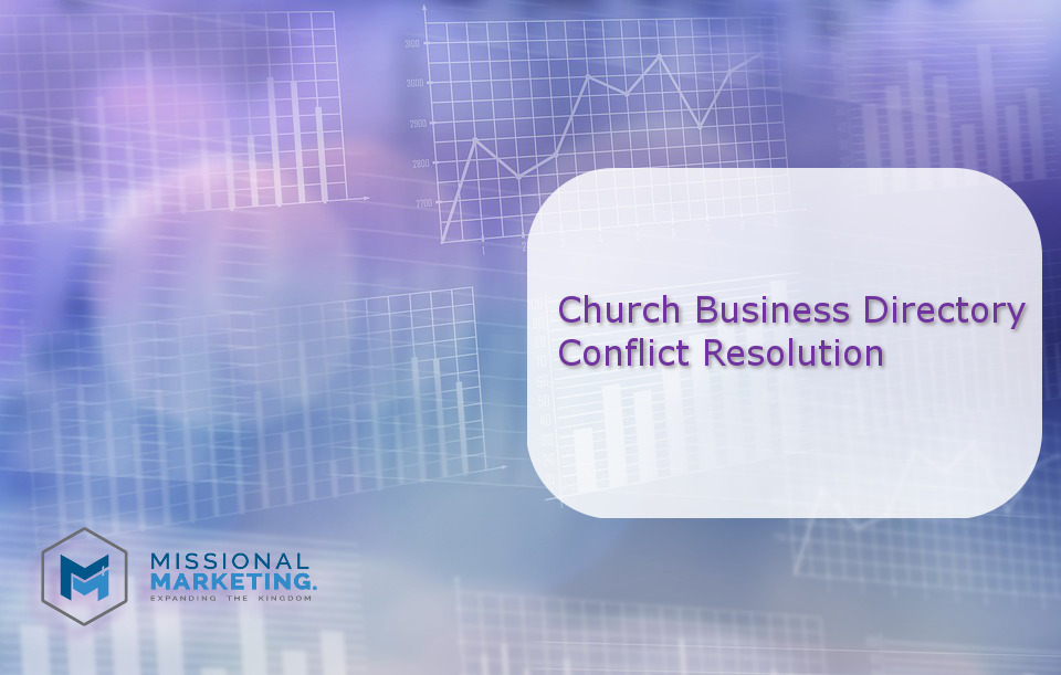 """Church Business Directory Conflict Resolution"" is locked Church Business Directory Conflict Resolution"