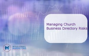 church business directory risks