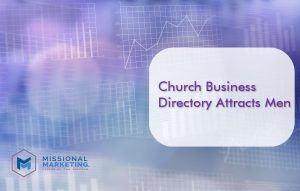 Church Business Directory Attracts Men