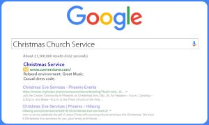 Church Landing Page Subscriptions