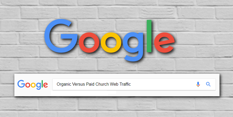 church web traffic