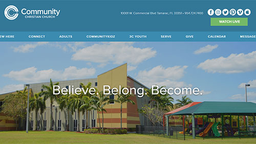 Community Christian Website
