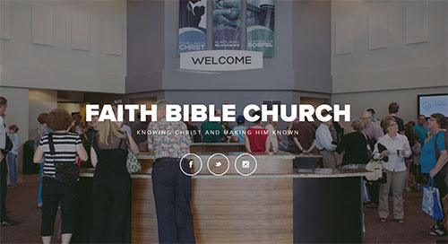 Faith Bible Website