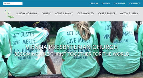 Vienna Presbyterian Website