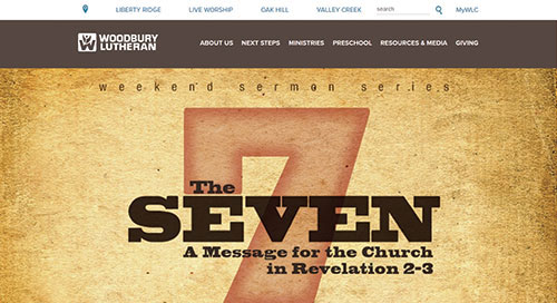 Woodbury Lutheran Website