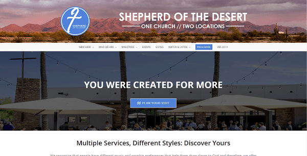Shepherd of the Desert