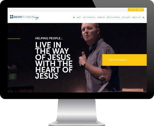 Website Development on Desktop