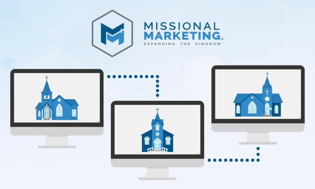 multi-campus church website