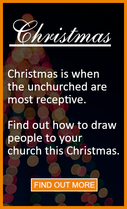 church Christmas marketing