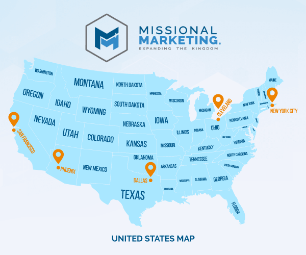 Missional Marketing Team Locations