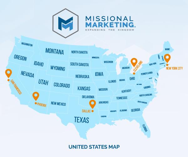 Missional Marketing Team Locations