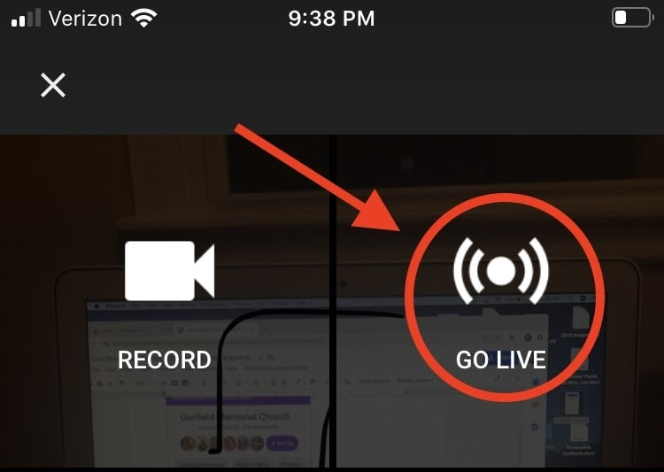 Live Streaming from Youtube on a Smartphone