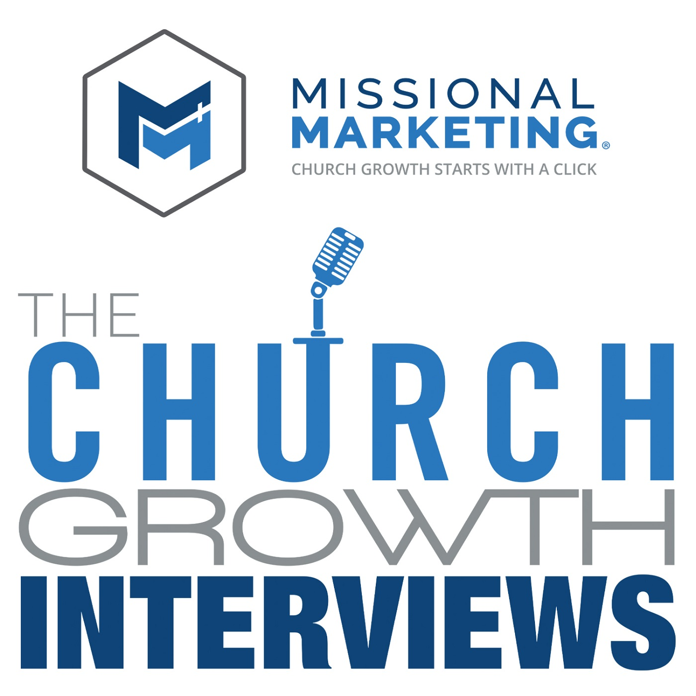 The Church Growth Interviews Podcast Logo