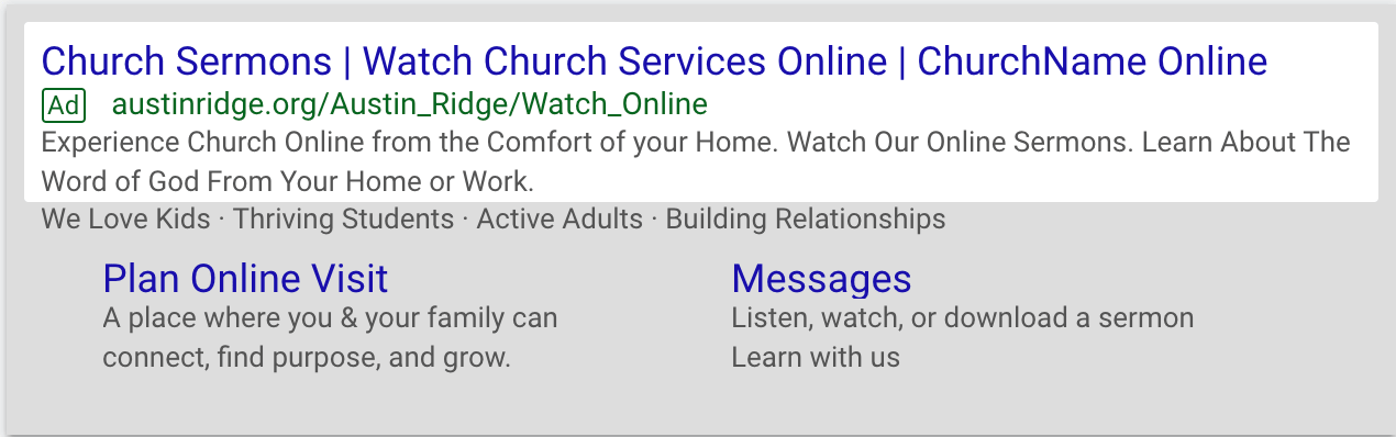 Adwords Ad Preview